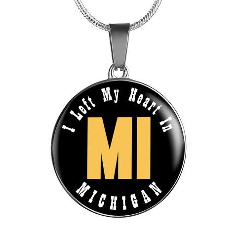 Heart In Michigan - Luxury Necklace