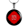 Root Chakra (Muladhara) - Luxury Necklace
