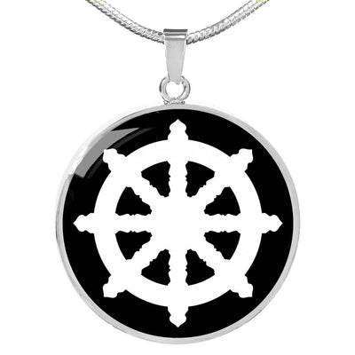 Dharma Wheel v2 - Luxury Necklace
