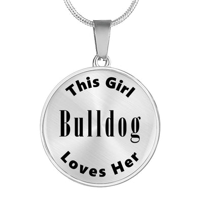 Bulldog - Luxury Necklace