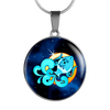 Zodiac Sign Aquarius - Luxury Necklace