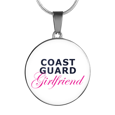 Coast Guard Girlfriend - Luxury Necklace