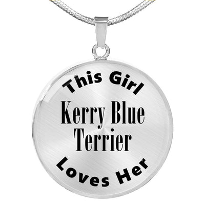 Kerry Blue Terrier - Luxury Necklace