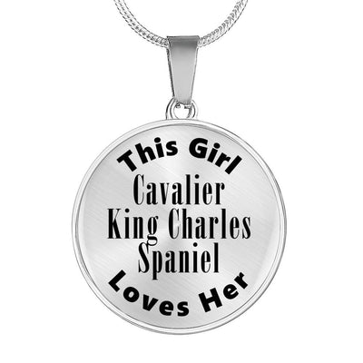 Cavalier King Charles Spaniel - Luxury Necklace