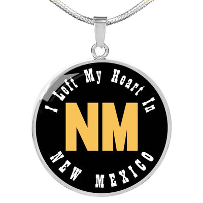Heart In New Mexico - Luxury Necklace