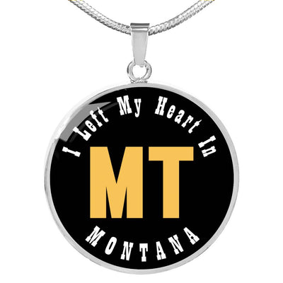 Heart In Montana - Luxury Necklace