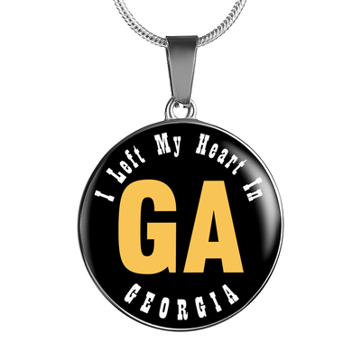Heart In Georgia - Luxury Necklace
