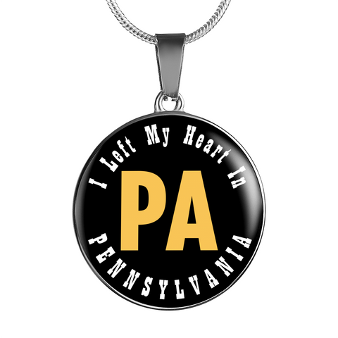 Heart In Pennsylvania - Luxury Necklace