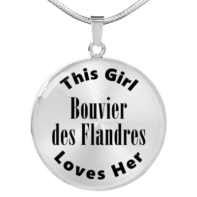 Bouvier des Flandres - Luxury Necklace