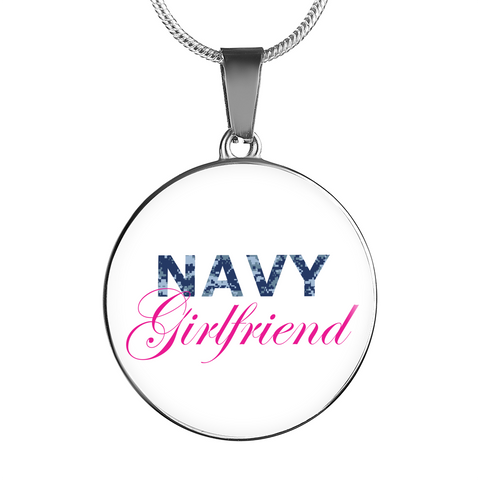 Navy Girlfriend - Luxury Necklace