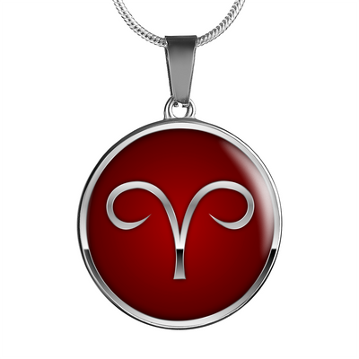 Zodiac Sign Aries v2 - Luxury Necklace