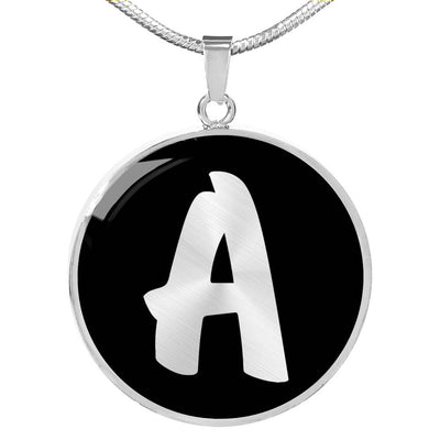 Initial A v2b - Luxury Necklace