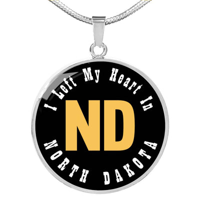 Heart In North Dakota - Luxury Necklace