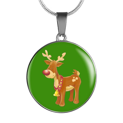 Christmas Reindeer - Luxury Necklace