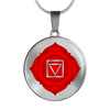 Root Chakra (Muladhara) v2 - Luxury Necklace