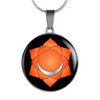 Sacral Chakra (Swadhisthana) - Luxury Necklace