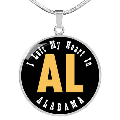 Heart In Alabama - Luxury Necklace