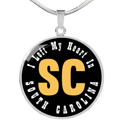 Heart In South Carolina - Luxury Necklace