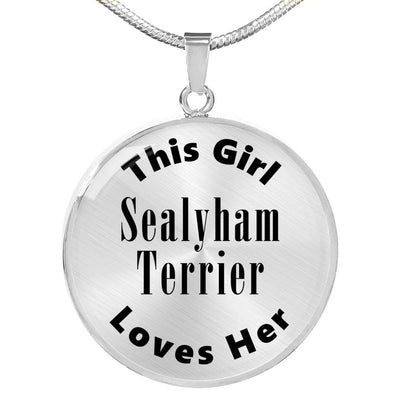 Sealyham Terrier - Luxury Necklace