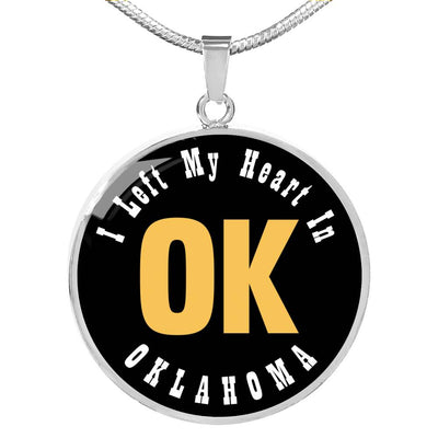 Heart In Oklahoma - Luxury Necklace