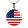 American Flag - Luxury Necklace