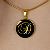 Initial D - 18k Gold Finished Luxury Necklace