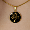 Golden Tree - 18k Gold Finished Luxury Necklace