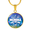 Ain't No Momma Like Mine - 18k Gold Finished Luxury Necklace