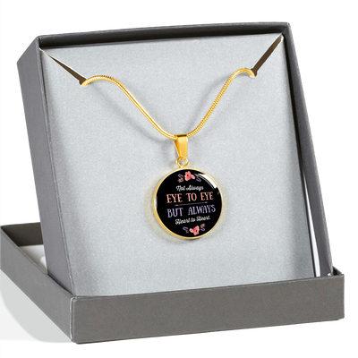 Always Heart To Heart - 18k Gold Finished Luxury Necklace