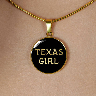 Texas Girl v2 - 18k Gold Finished Luxury Necklace