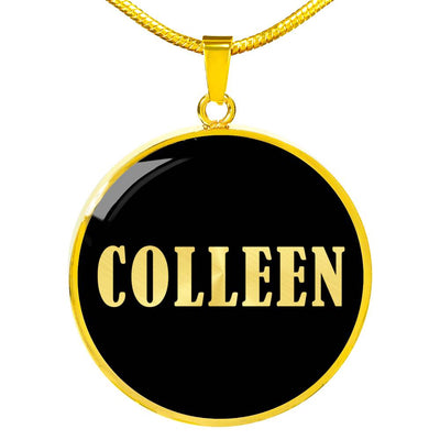 Colleen v02 - 18k Gold Finished Luxury Necklace
