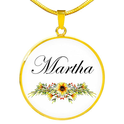 Martha v5 - 18k Gold Finished Luxury Necklace