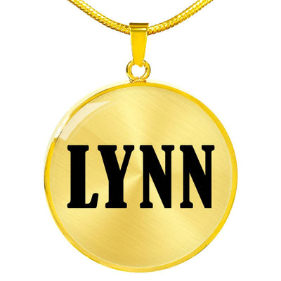 Lynn v01 - 18k Gold Finished Luxury Necklace