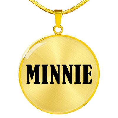 Minnie v01 - 18k Gold Finished Luxury Necklace