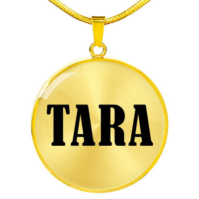 Tara v01 - 18k Gold Finished Luxury Necklace