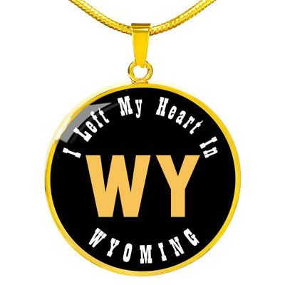 Heart In Wyoming - 18k Gold Finished Luxury Necklace