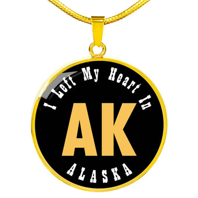 Heart In Alaska - 18k Gold Finished Luxury Necklace