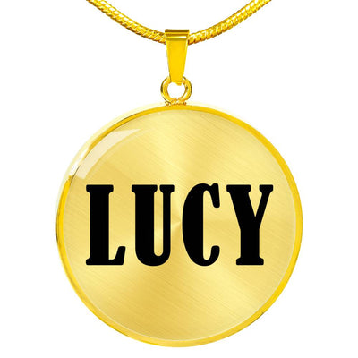 Lucy v01 - 18k Gold Finished Luxury Necklace