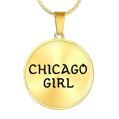 Chicago Girl - 18k Gold Finished Luxury Necklace