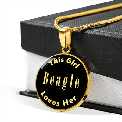 Beagle v1 - 18k Gold Finished Luxury Necklace