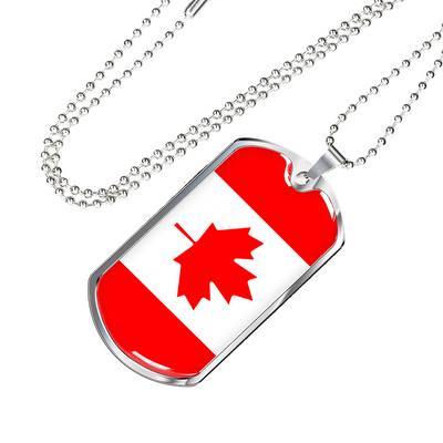Canadian Pride - Luxury Dog Tag Necklace