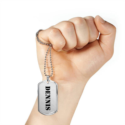 Dennis - Luxury Dog Tag Necklace