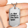 King Charles Spaniel - Luxury Dog Tag Necklace