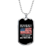 Our Flag - Luxury Dog Tag Necklace