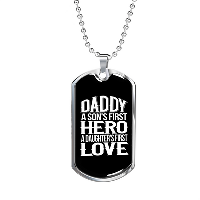 Daddy v2 - Luxury Dog Tag Necklace