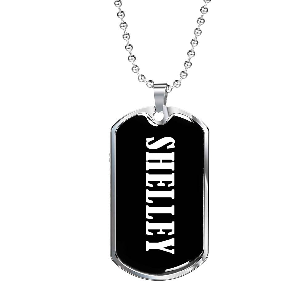 Shelley v02 - Luxury Dog Tag Necklace