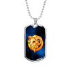 Zodiac Sign Aries - Luxury Dog Tag Necklace