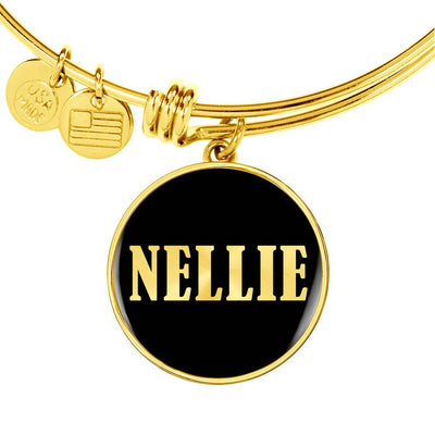 Nellie v02 - 18k Gold Finished Bangle Bracelet