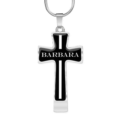 Barbara v2 - Luxury Cross Necklace