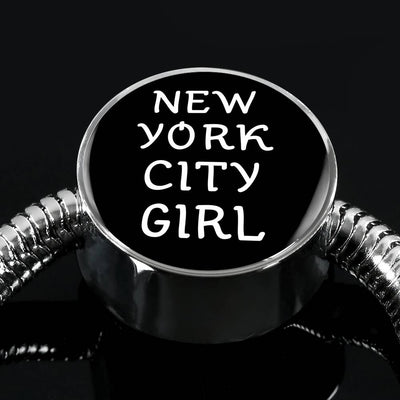New York City Girl v1 - Luxury Charm Bracelet